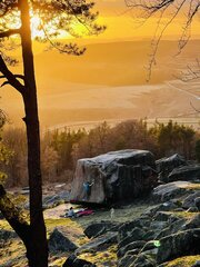 [Golden Hour at the Stanage Plantation © MattH]