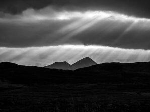 [Cùl Mòr, Coigach, autumn evening © Colin Wells]
