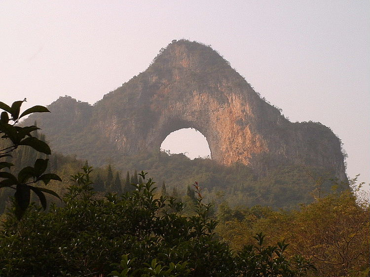 Moon Hill Yangshuo, China, 95 kb