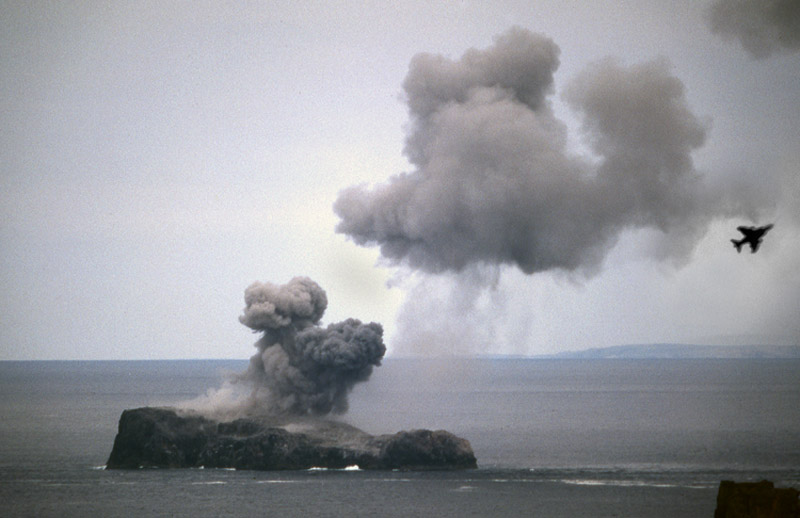 NATO assault on poor old Garbh-eilean (Cape Wrath area)., 80 kb