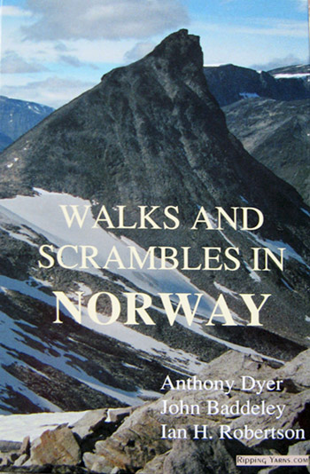 Walks and Scrambles in Norway by Anthony Dyer, 76 kb