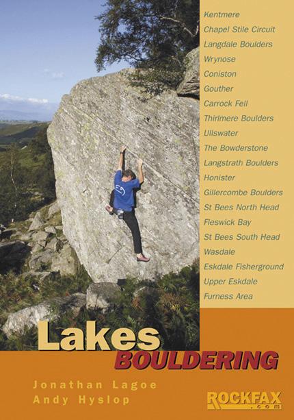 Lakes Bouldering Rockfax Cover, 173 kb