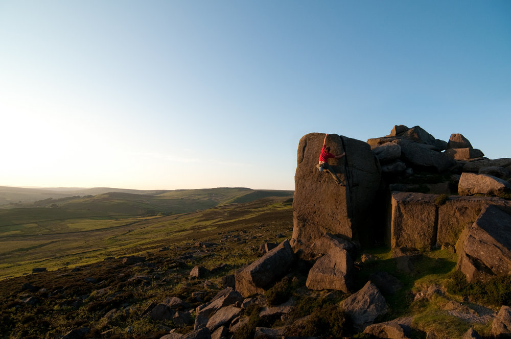 Loving the golden hour at Over Owler Tor, 114 kb