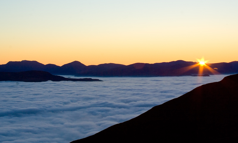 Blencathra sunset, 108 kb