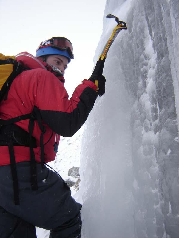 Water-ice, winter corrie (Glen Clova, Angus), 47 kb