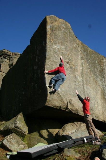 Andy Earl Climbs Careless Torque, 58 kb