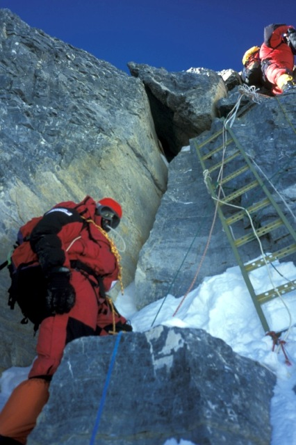 2nd Step on NorthEast Ridge of Everest, 88 kb