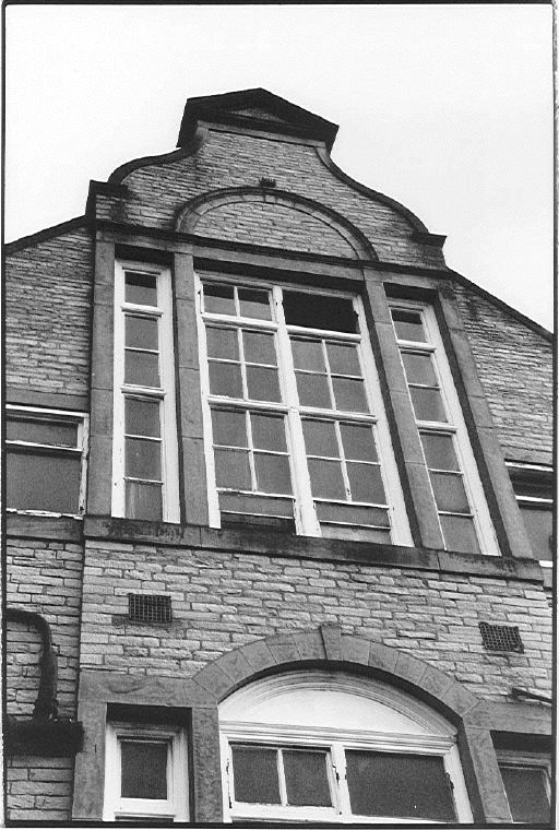 The outside of the top climbers training area, the Schoolroom, Sheffield, 94 kb