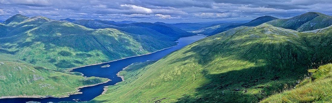 Loch Mullardoch, 110 kb