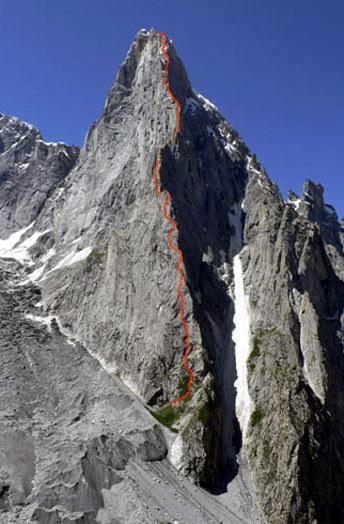 Shingu Charpa (5600m), Karakoram, Pakistan, 58 kb