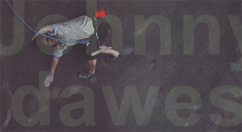 Johnny Dawes - montage portrait, 31 kb