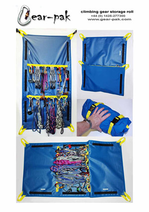 GEAR-PAK Climbing Gear Storage Roll #1, 46 kb