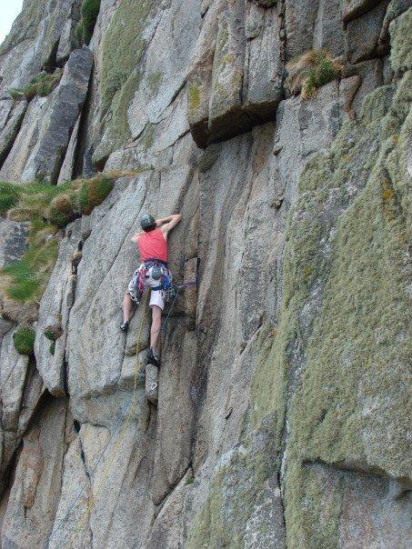 1st Pitch, Paragon.  Nice climb :-), 103 kb