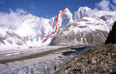 Pumari Chhish South (7,350m), 33 kb