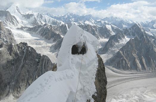 North ridge of Latok I, 78 kb