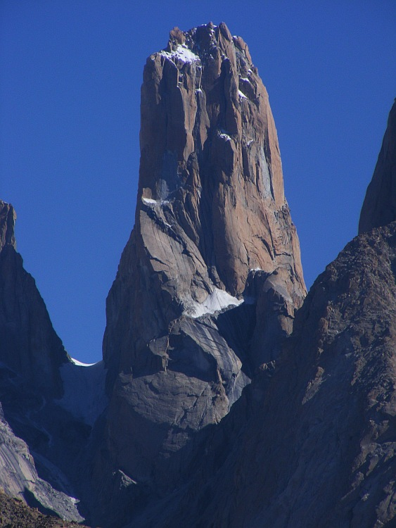 Nameless Tower, Trango Massif, Pakistan, 114 kb