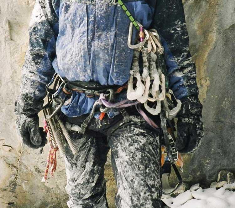 Rock climbing gear list