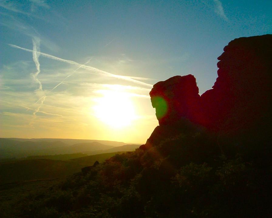 Sunset at Higgar Tor, 40 kb