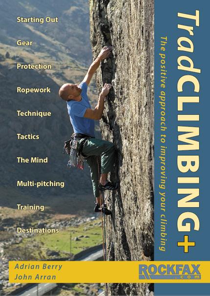 Trad Climbing + Rockfax Cover, 164 kb