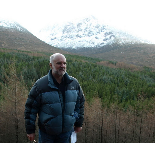 Cameron McNeish opens new Ben Nevis North Face footpath, 101 kb