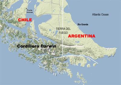 Cordillera Darwin, 48 kb