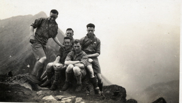 Berger of Middlebrough climbing club 1930's, 57 kb