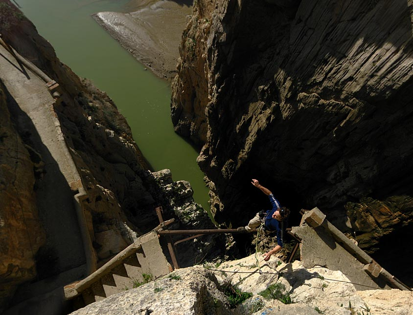 Mind the Gap - the Camino del Rey at El Chorro, 108 kb