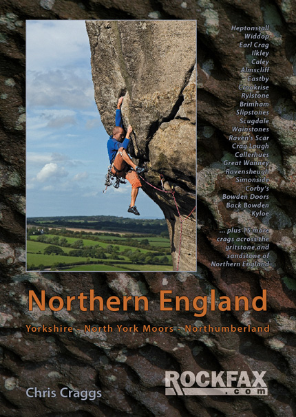 Northern England Rockfax Cover, 165 kb