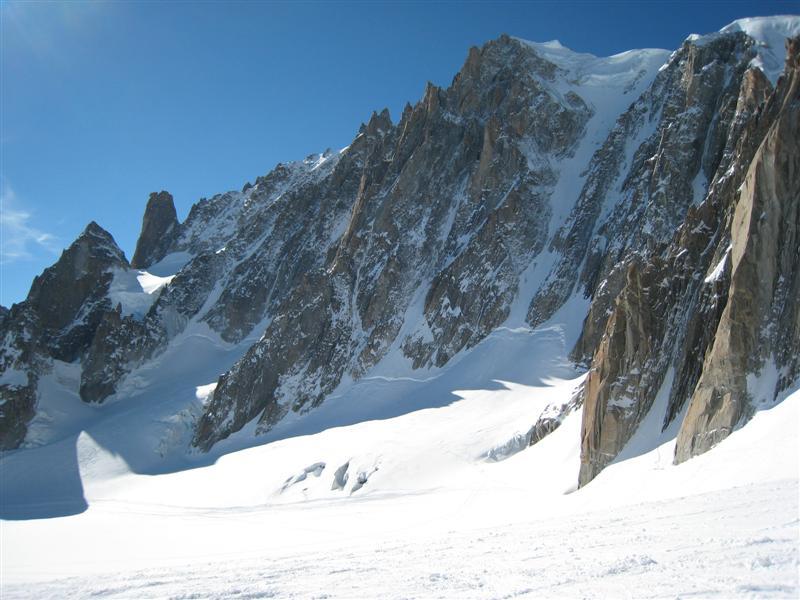 Mont Blanc du Tacul - Gervasutti Couloir, 69 kb