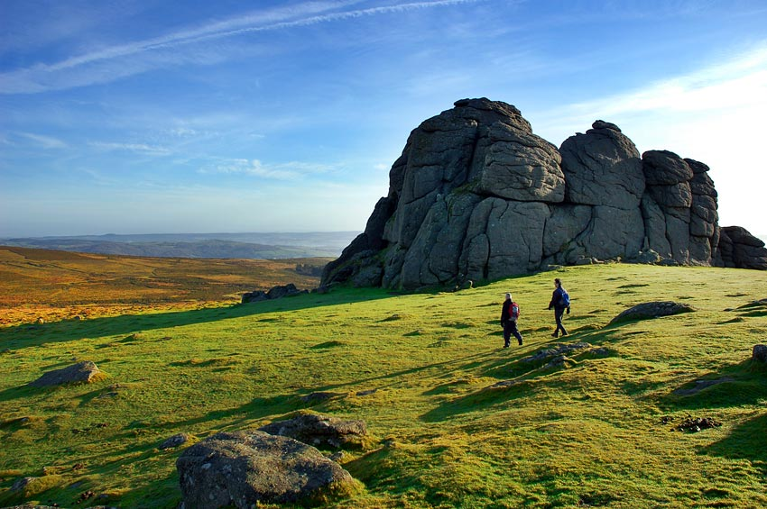 Early morning on Haytor, Dartmoor, 117 kb