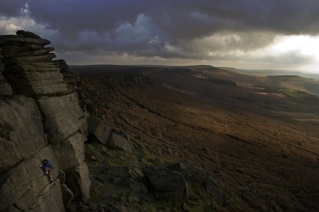 One last route.  End of the Day at Stanage, 107 kb