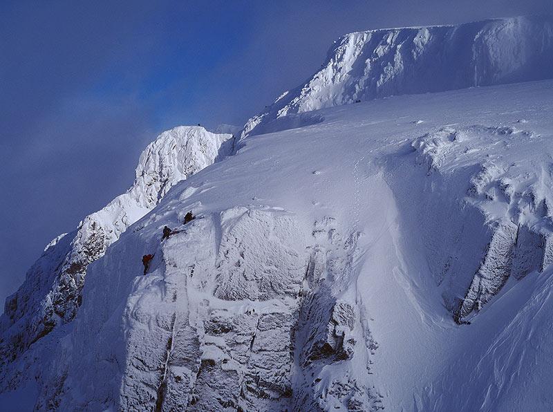 Ben Nevis in Winter, 111 kb