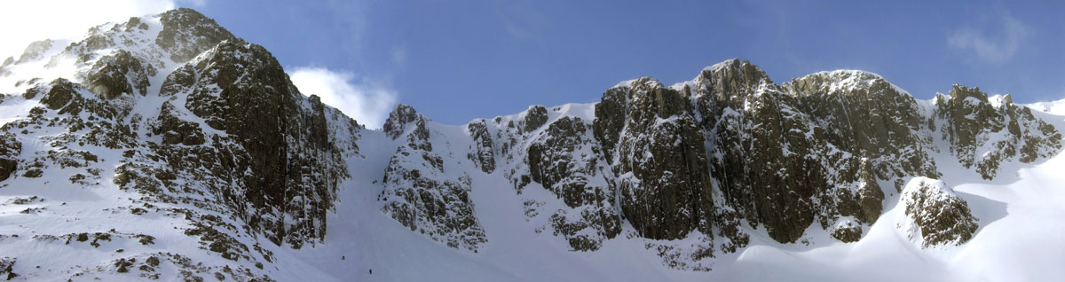 Stob Coire nan Lochan (panorama), 101 kb