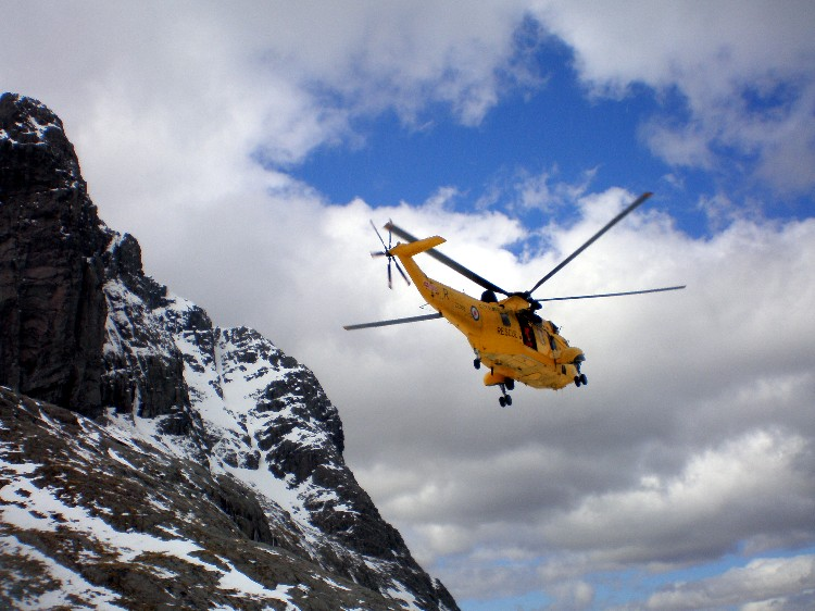 Another mission for the RAF helo, 112 kb