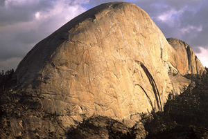 The South Face of Half Dome., 73 kb
