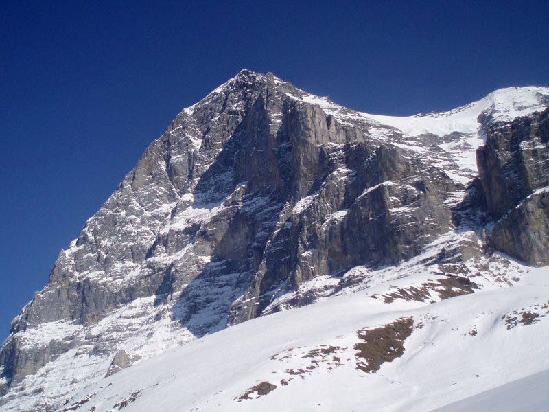 First sight of the North Face of the Eiger, 116 kb