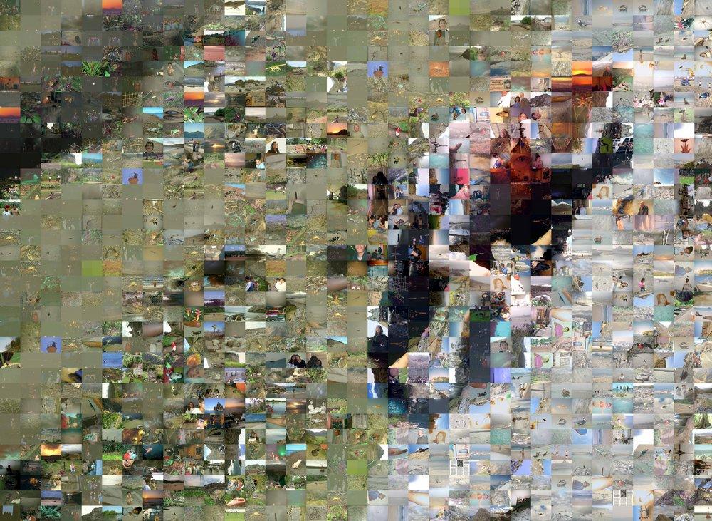 Alejandro - Photo Mosaic, 232 kb