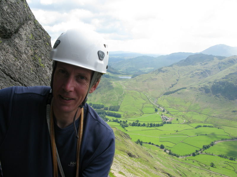 Andy Hyslop on Gimmer Crag, Langdale, 160 kb