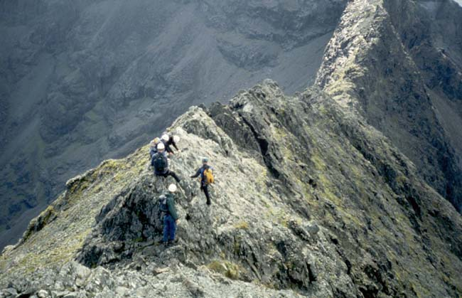 Descending towards Sgurr Thormaid, 62 kb
