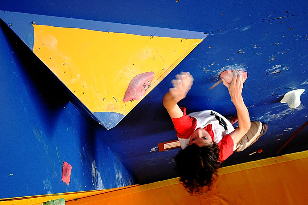 Second placed Junior Male, Nathan Phillips, at the BBC at Cliffhanger 2008, 222 kb