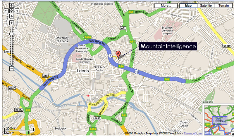 Mountain Intelligence in Leeds, 158 kb