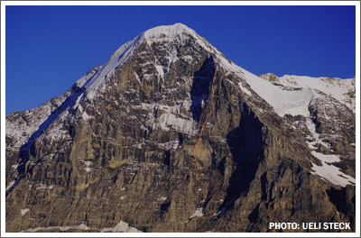 Paciencia - Eiger north face, 46 kb