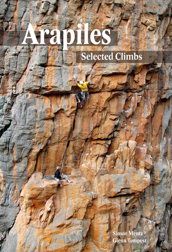 Arapiles Selected Climbs Front Cover, 95 kb