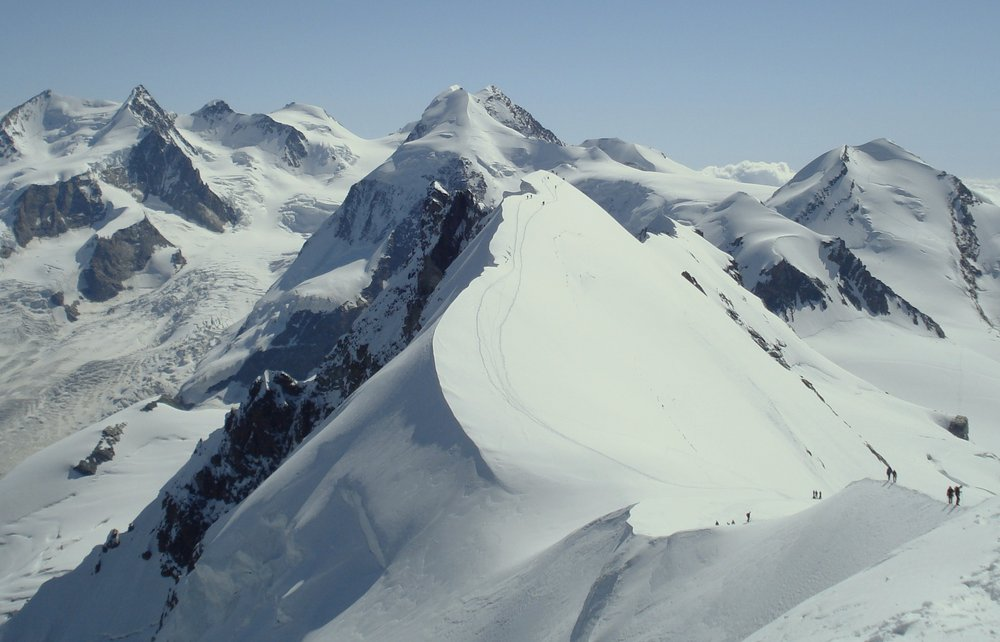 View from the Breithorn, 93 kb