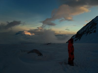 Very cold night at the 14'000ft camp