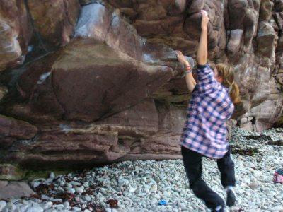 random bouldering