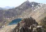 [Snowdon summit from the ridge, 2 kb]