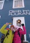 Emma and Ewan - the winners of the Cotswold/Rab Climb Norway competition, 4 kb