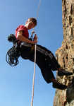 Self Rescue for Climbers - Passing the Knot on an Abseil, 4 kb