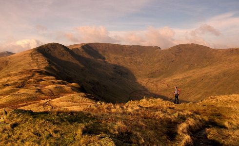 Looking to the Fairfield Horseshoe from Heron Pike, 4 kb